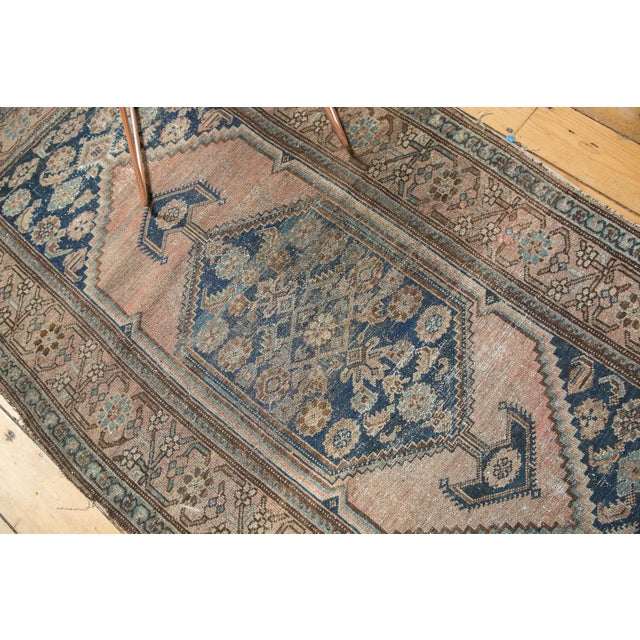 """Blue Antique Malayer Rug - 3'8"""" x 6'4"""" For Sale - Image 8 of 10"""