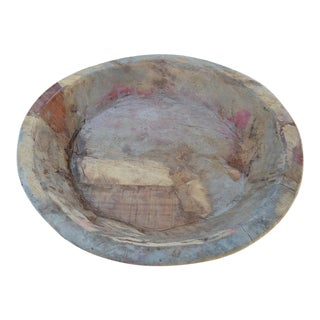 "Antique 15"" Round Dough Bowl For Sale"