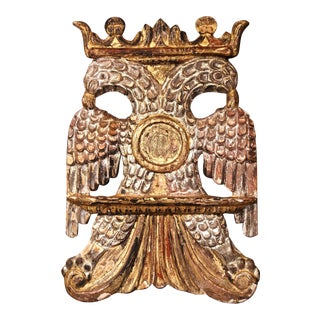 Mid-19th Century Spanish Carved Giltwood and Silver Holy Bible Book Stand Holder For Sale