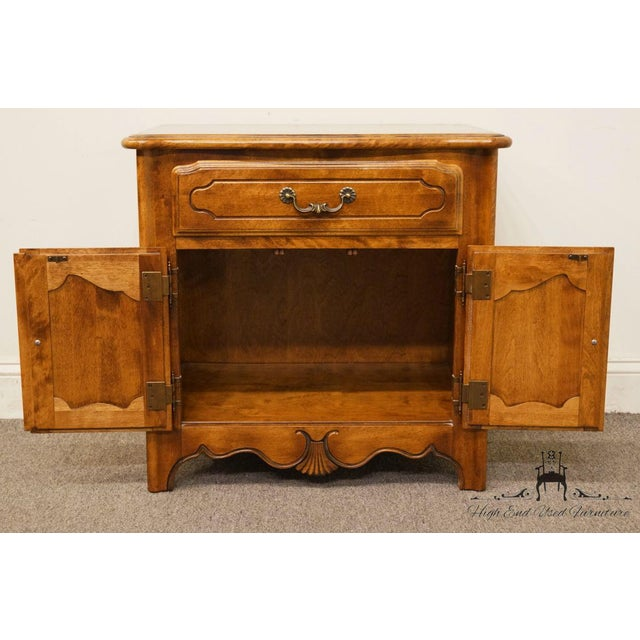 """Ethan Allen Country French Collection 26"""" Nightstand 26-5316 - Finish 236 For Sale In Kansas City - Image 6 of 13"""
