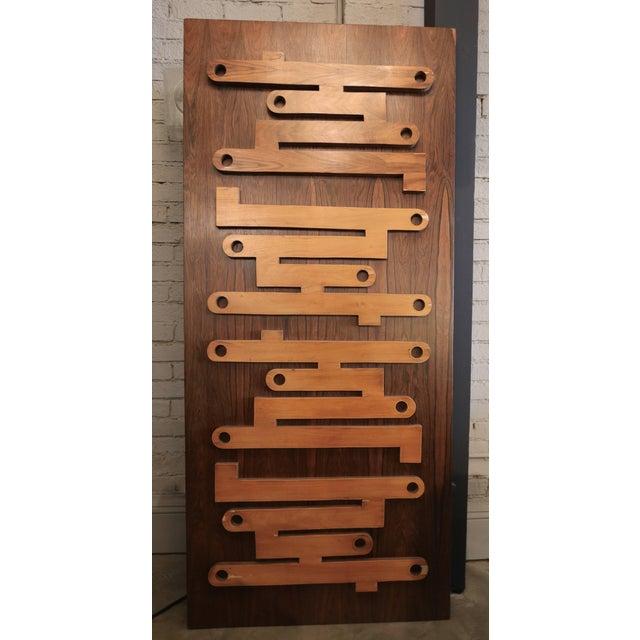 1960s Brazilian Jacaranda Decorative Panel or Door For Sale - Image 4 of 8
