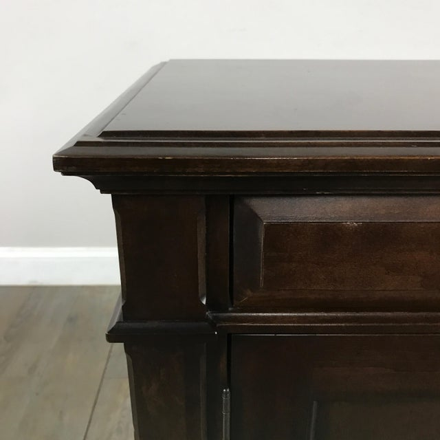 Cane-Lined Traditional Nightstand - Image 8 of 11