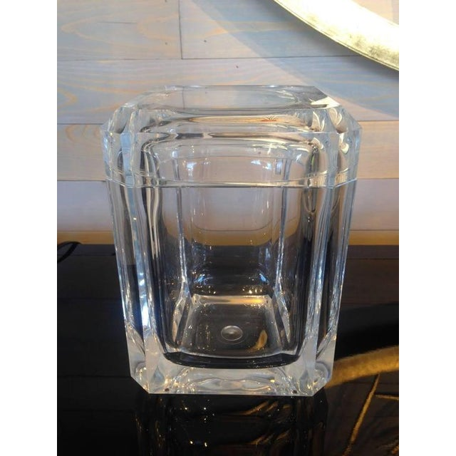 Faceted Acrylic Ice Bucket - Image 4 of 4