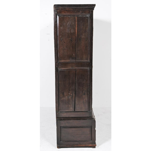 1770 English Oak Cupboard/Livery Cabinet For Sale - Image 4 of 12