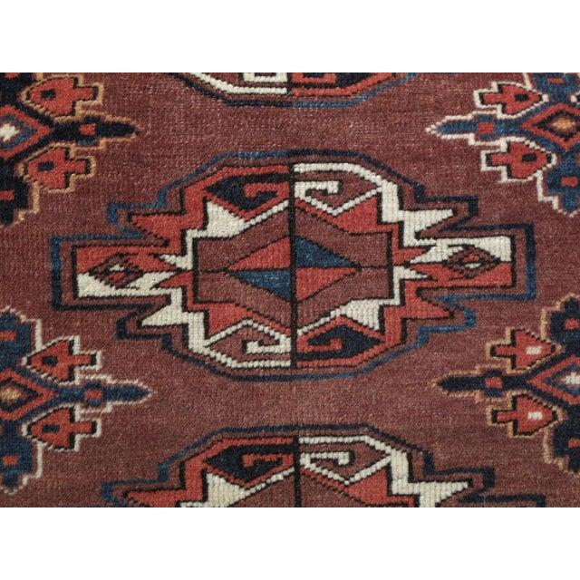 """Textile Antique Turkmen """"Chuval"""" For Sale - Image 7 of 7"""