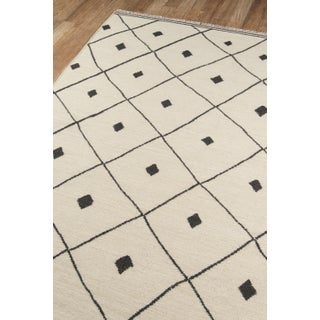 "Erin Gates by Momeni Thompson Appleton Ivory 5' X 7'6"" Hand Woven Wool Area Rug - 5′ × 7′6″ Preview"