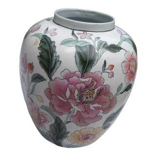 Vintage Japanese Ceramic Vase For Sale