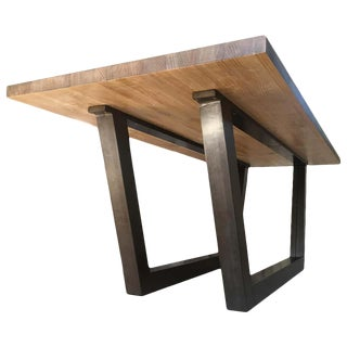 21st Century Wrought Iron Patio or Kitchen Dinning Table, Indoor and Outdoor For Sale