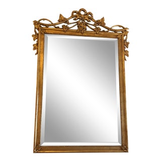 20th Century Hollywood Regency Friedman Brothers Giltwood Mirror For Sale