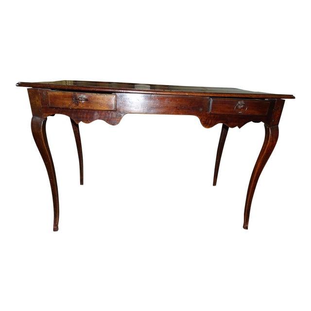 Louis XV Epoch Walnut Desk For Sale