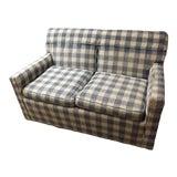Image of Mid-Century Brunschwig & Fils Kravet Furniture Loveseat Sofa For Sale