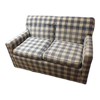 Mid-Century Brunschwig & Fils Kravet Furniture Loveseat Sofa For Sale