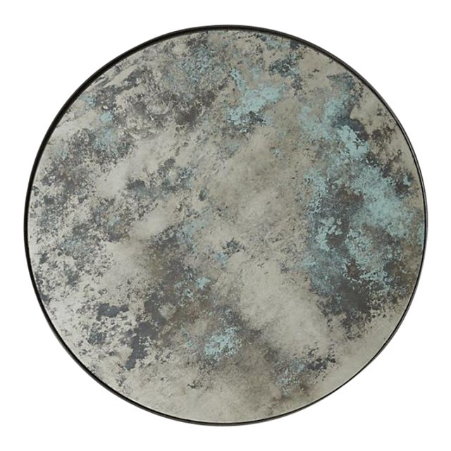 Round Color Washed Mirror For Sale