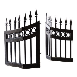 Mid 18th Century Wood Stable Gates - A Pair For Sale