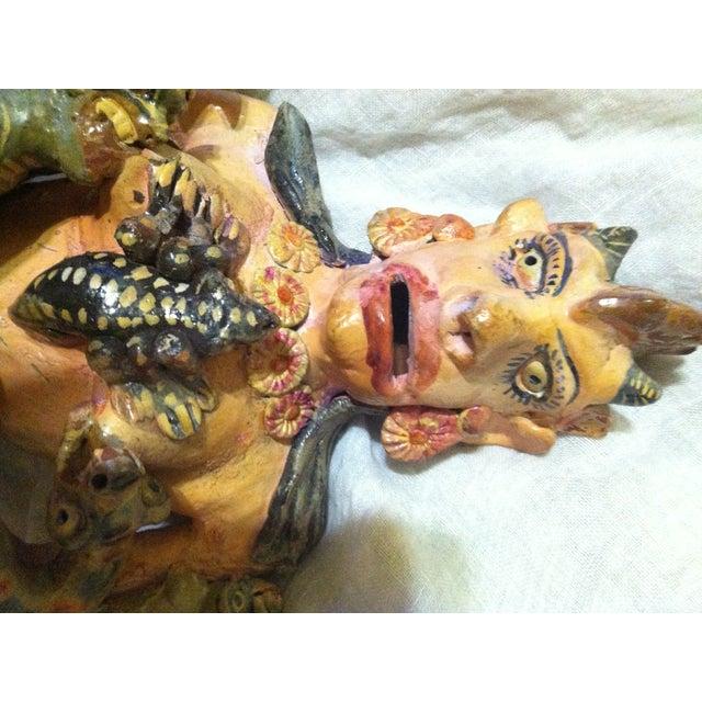 Folk Art Rutilia Martines Alvares Ocumichu Demon Goddess Figure For Sale - Image 3 of 6