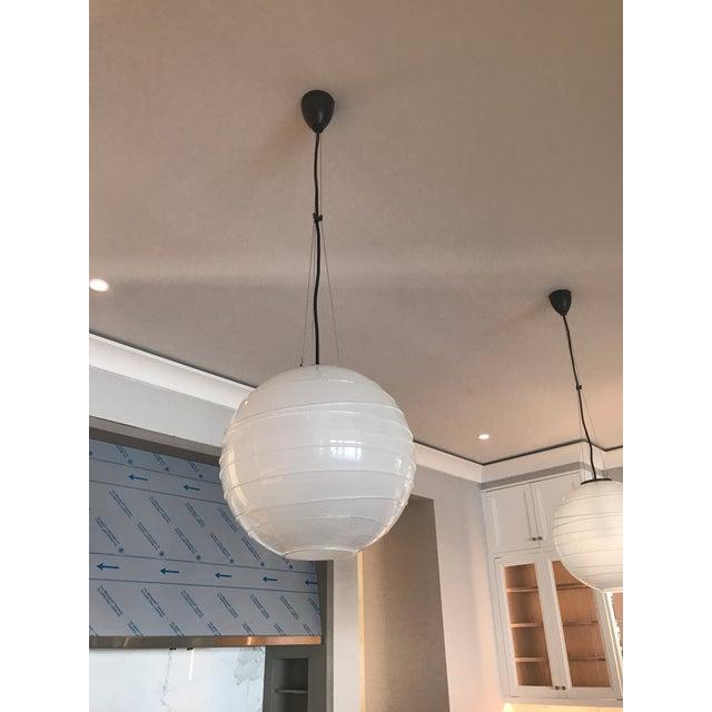 Visual Comfort Circa Lighting Visual Comfort Hailey Medium Round Pendant Light For Sale - Image 4 of 12
