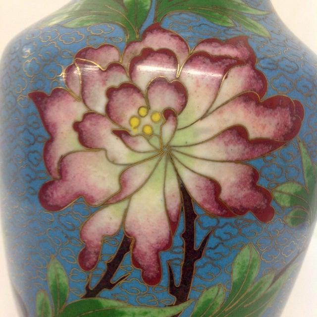 Meiji Japanese Cloisonné Vase - Image 7 of 9