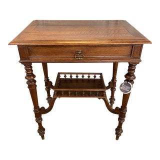 19th Century French Walnut Occasional Table For Sale