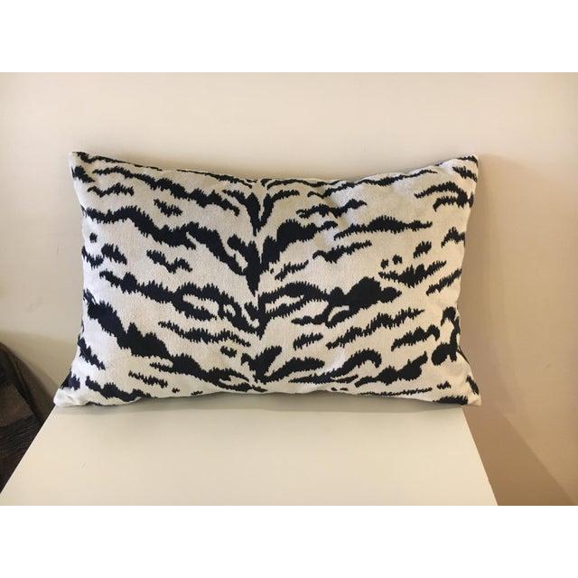 2010s Williams-Sonoma Velvet Lumbar Pillow For Sale - Image 5 of 5
