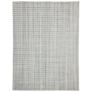 Transitional Gray Area Rug - 8′11″ × 12′1″ For Sale
