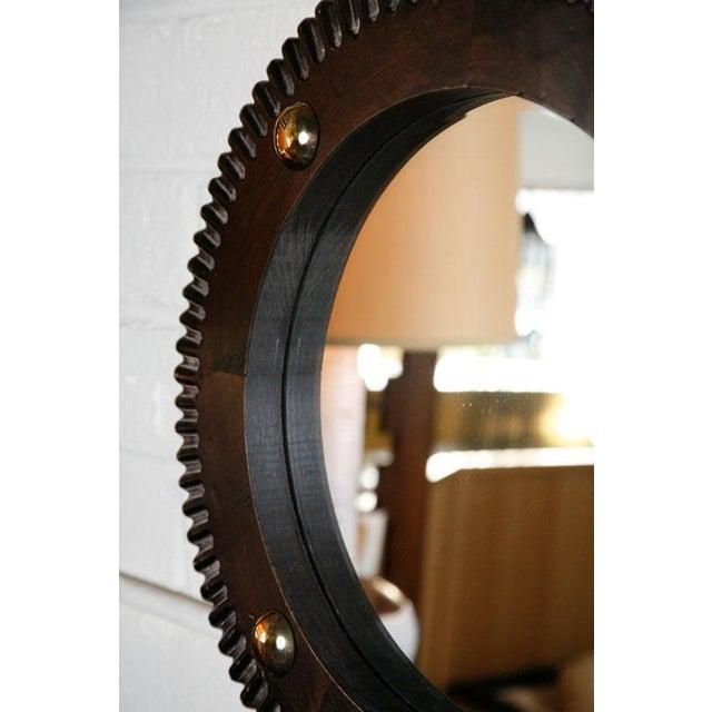 Paul Marra Gear Style Mirror - Image 4 of 8