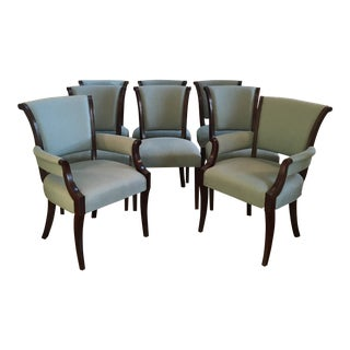 Barbara Barry Collection Dining Chairs- Set of 8 For Sale