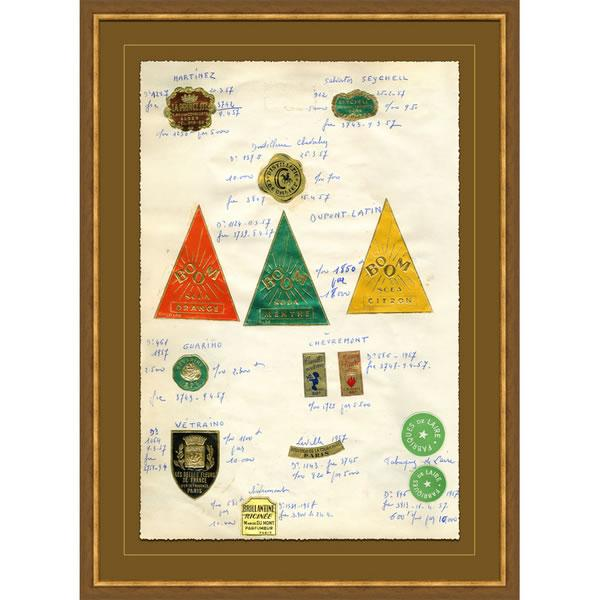 Soicher Marin French Themed Apothecary Print - Image 1 of 4