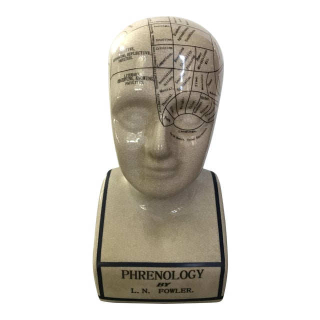 L. N. Fowler Phrenology Bust - Image 1 of 6