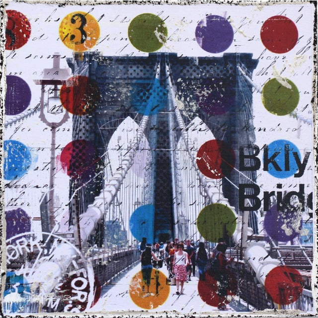 """""""Follow Me to Brooklyn"""" Original Artwork by Marion Duschletta For Sale - Image 10 of 10"""