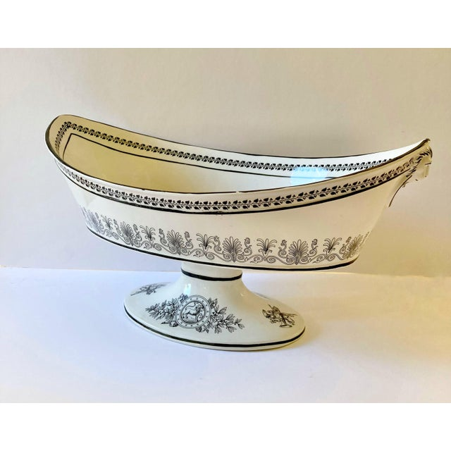 Traditional Mottahedeh Italian Pedestal Bowl For Sale - Image 3 of 12