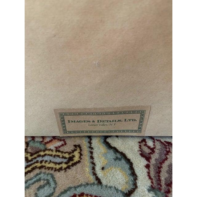 2000 - 2009 Professionally Framed Hermes 100% Silk Scarf For Sale - Image 5 of 6