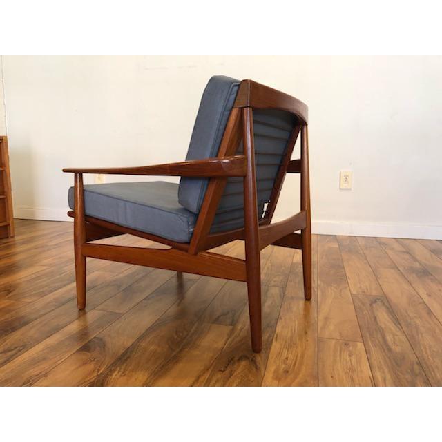 Grete Jalk Danish Teak Lounge Chair For Sale - Image 5 of 13
