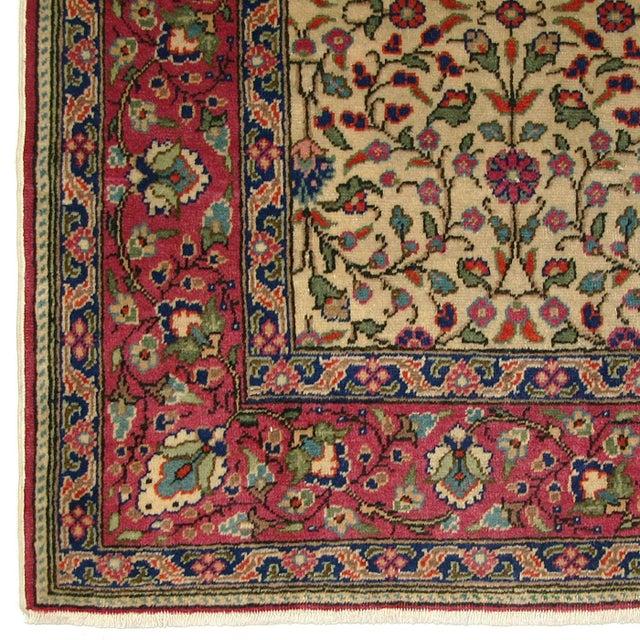 "Vintage Turkish Kayseri Carpet - 3'11"" x 5'9"" - Image 3 of 4"