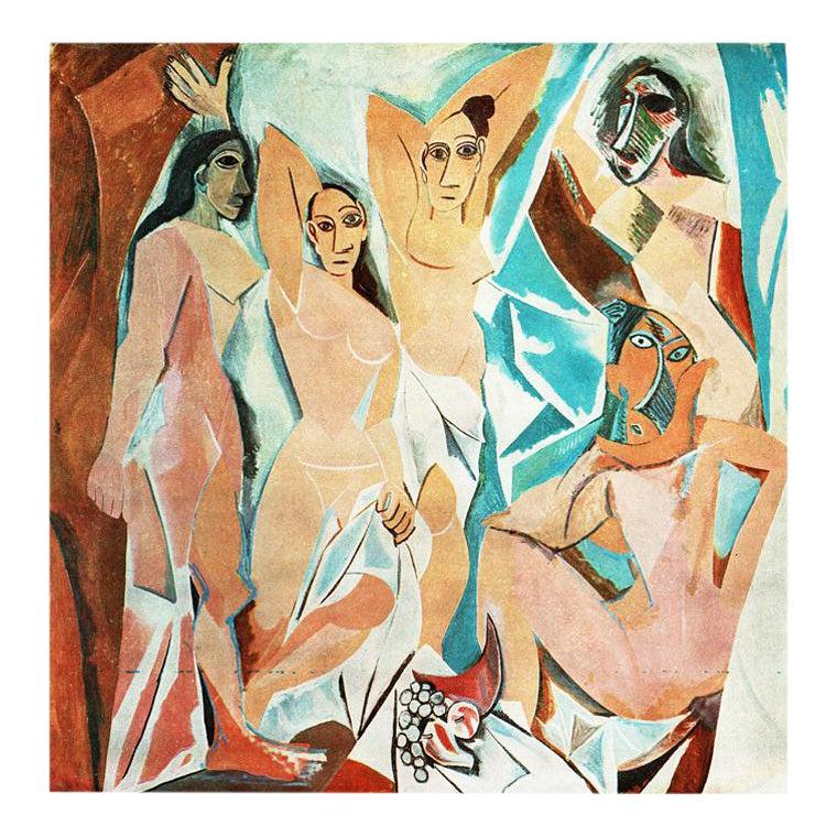 1971 Pablo Picasso The Young Ladies Of Avignon Period Parisian Photogravure Chairish