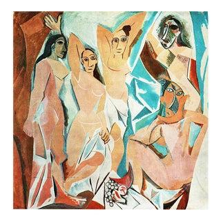"1971 Pablo Picasso, ""The Young Ladies of Avignon"" Period Parisian Photogravure For Sale"