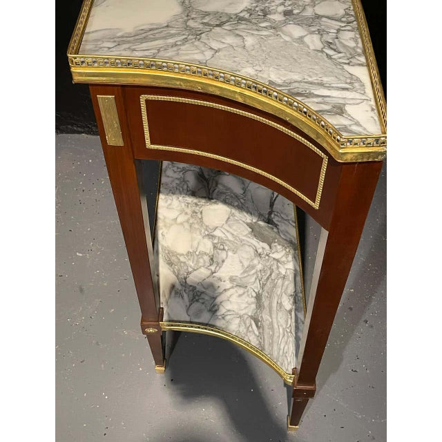 Russian Neoclassical Console Tables, Sofa Tables or Bedside Stands - a Pair For Sale - Image 10 of 12