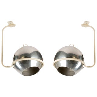 Set of Two Ceiling Lamps by Gino Sarfatti for Arteluce For Sale