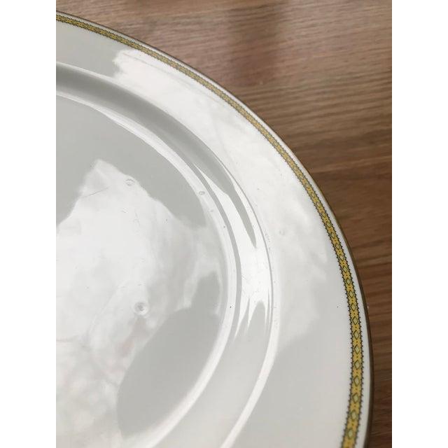 Ceramic Limoges Art Deco Bone China Dinnerware For Sale - Image 7 of 12