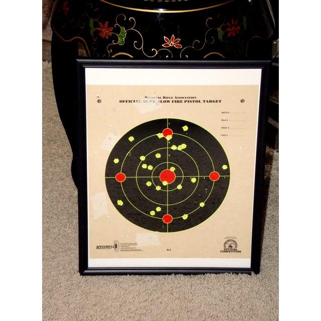 Framed NRA Shooting Target - Image 9 of 11