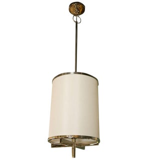 Paul Marra Silk Drum Lantern Pendant