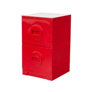 Mod 2 Drawer Filing Cabinet in Red Preview