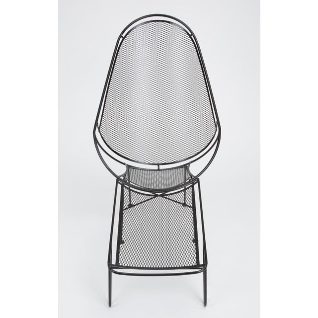 Salterini Scoop Lounge Chair With Ottoman by Maurizio Tempestini for Salterini For Sale - Image 4 of 13