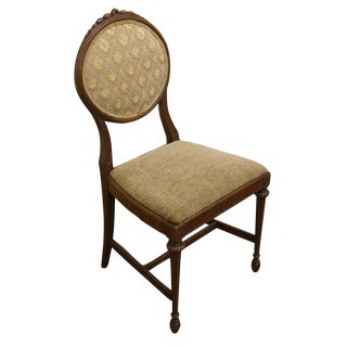 1920's Traditional French Regency Vanity Side Chair For Sale