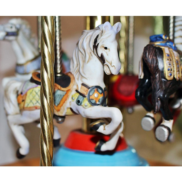 Tabletop Carousel by Fraley - Image 9 of 9