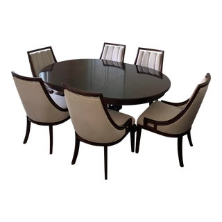 Stanley Furniture Round Dining Set For Sale