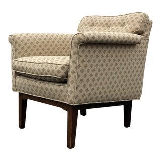 Mid Century Modern Edward Wormley for Dunbar Lounge Chair For Sale