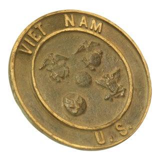 Metal Vietnam Plaque For Sale