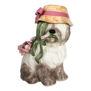 Large Ceramic Dog For Sale