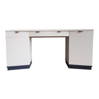 1950s Edward Wormley Drexel Mid Century Modern Desk or Vanity For Sale