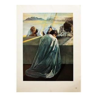 "1957 Salvador Dalí, Original ""The Last Supper. Detail"" Original Period Photogravure For Sale"